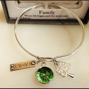 Jewelry - Great Gift!  Silver Gratitude & Grace Bracelet